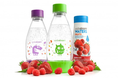 Product Still Life   Plastic Bottles + Syrup   Sodastream