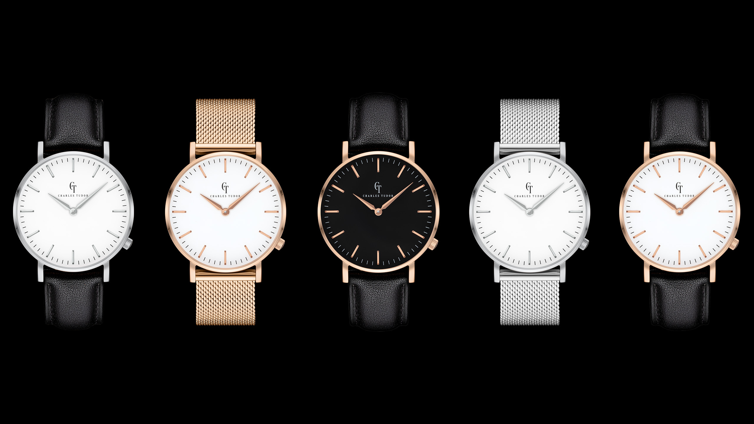 Classic Watch - composed product photography